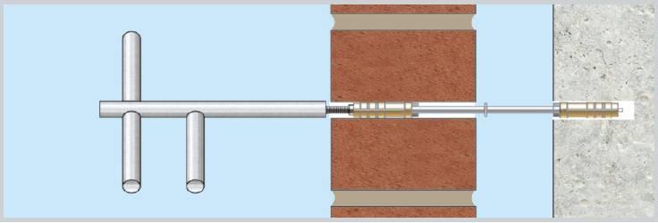 Torkfix Retrofit Mechanical Repair Anchor Fixing To Stabilize